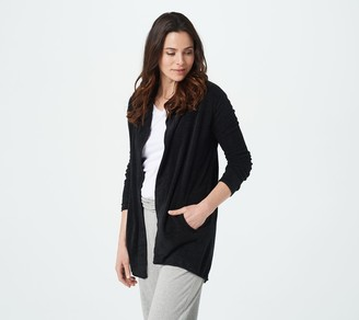Barefoot Dreams CozyChic Ultra Lite Hooded Cardi