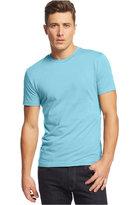 Alfani Big and Tall Solid Stretch Crew-Neck T-Shirt