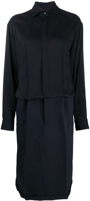 Maison Margiela Long-Sleeved Shirt Dress