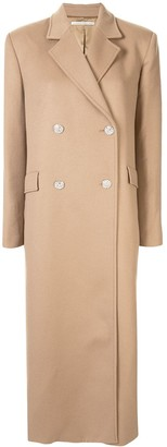 Alessandra Rich Embellished Button Coat