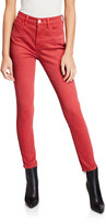 Frame Le High Skinny Twisted Seam Ankle Jeans