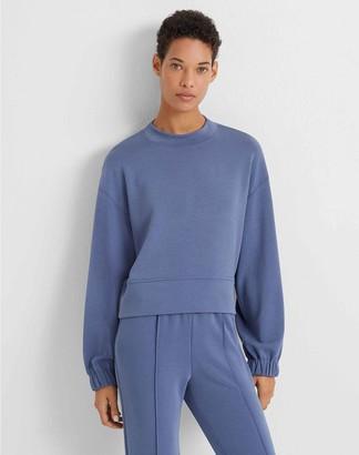 Club Monaco Ruched Sleeve Sweatshirt