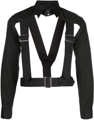 Comme des Garcons harness-style long-sleeve shirt