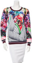 Clover Canyon Printed Crew Neck Sweatshirt