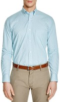 Tailorbyrd Mini Check Classic Fit Button Down Shirt