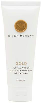 Niven Morgan Gold Hand Cream, 4.0 oz.