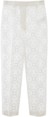 Alexander McQueen Lace Sheer Trousers