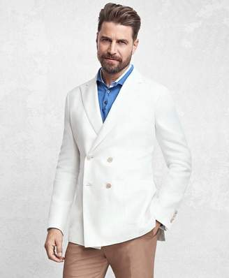 Brooks Brothers Golden Fleece Double-Breasted Twill Sport Coat