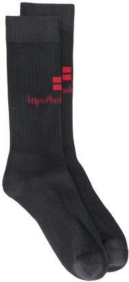 Han Kjobenhavn signature flag tube socks