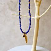 Lapis Eve&Fox 'Lapis' Friendship Gemstone Necklace
