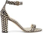 Brian Atwood Margo elaphe sandals