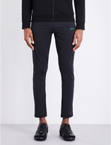 HUGO BOSS Cropped jersey jogging bottoms