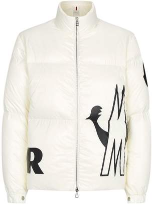 Moncler Friesian Logo Graphic Jacket