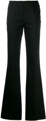 P.A.R.O.S.H. flared pull-on trousers