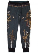 Dolce & Gabbana Heraldic-print Cotton Jogging Trousers