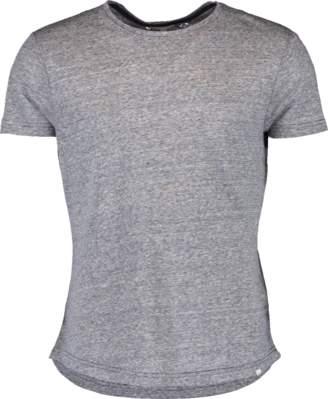 Orlebar Brown OB-T Linen Navy Stripe Tailored-Fit Crew Neck T-Shirt