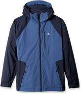 Champion Men's Technical Ripstop 3-in-1 System with Sweater Fleece Inner Shell Jacket