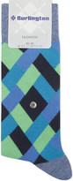 Burlington Fashion geometric cotton socks