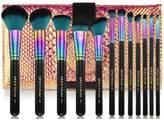 Spectrum Sassy Siren 12 Piece Make-up Brush Set & Roll