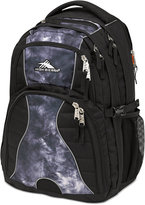 High Sierra Swerve Backpack in Black Atmosphere