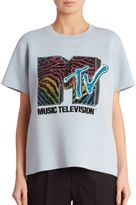 Marc Jacobs Short Sleeve MTV Sweatshirt