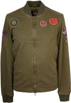 Pretty Green Men's Larchwood Badge Bomber