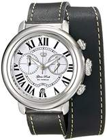 Glam Rock Women's GR77138 Bal Harbour Analog Display Swiss Quartz Black Watch