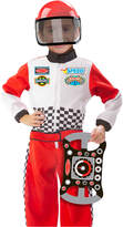 Melissa & Doug Kids' Race Car Driver Role Play Costume Set