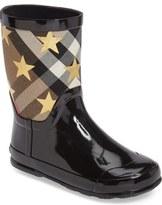Burberry Ranmoor Star Rain Boot (Toddler & Little Kid)