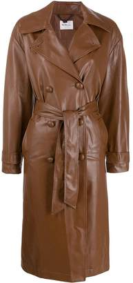 Blumarine Be Belted Trench Coat