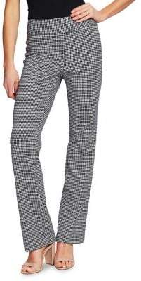 Cynthia Steffe Cece By Houndstooth Boot-Leg Pants
