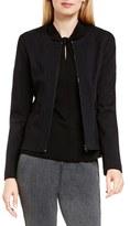 Vince Camuto Women's Front Zip Collarless Jacket