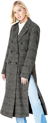 Find. Amazon Brand Women's Coat in Double-Breasted Fit
