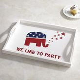 Pier 1 Imports Elephant Election Party Tray