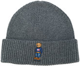 Polo Ralph Lauren bear embroidered beanie