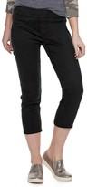 Sonoma Goods For Life Women's SONOMA Goods for Life Pull-On Capri Jeans