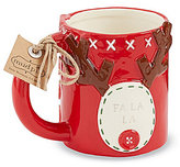 Mud Pie Holiday Deck the Halls Reindeer Mug