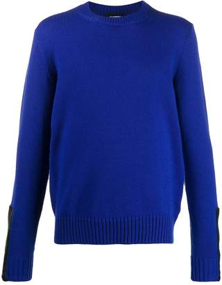 Les Hommes crew-neck knitted jumper