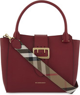 Burberry Medium buckled leather tote