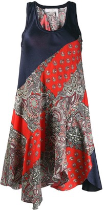 Chloé Patchwork Sleeveless Dress