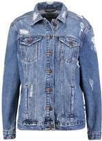 New Look CHEZZA Denim jacket mid blue