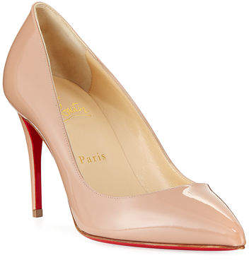 huge discount 344c6 5931f Pigalle Follies 85mm Patent Red Sole Pump