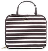 Kate Spade Classic Nylon Minna Striped Cosmetic Case