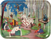 The Woods Avenida Home - Louise Kirk - Alice in Wonderland Tray - Alice Lost in