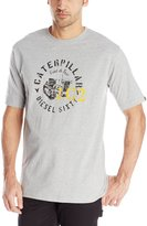 Caterpillar Men's Diesel Sixty Tee, Heather Grey