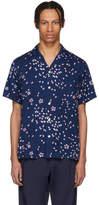 Blue Blue Japan Indigo Sakura Fubuki Shirt