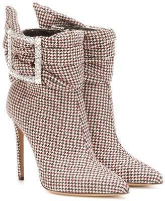 Alexandre Vauthier Yasmine embellished ankle boots