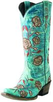 Lucchese Floral Embroidered Boots