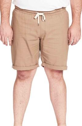 Johnny Bigg Byron Cotton & Linen Drawstring Shorts
