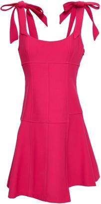 Cinq à Sept Jeanette Bow-detailed Cady Mini Dress